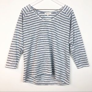 TWO by VINCE CAMUTO Striped Top M